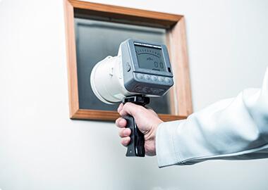 漏洩線量測定・室内散乱線測定